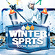 Winter Sports Poster Template - GraphicRiver Item for Sale