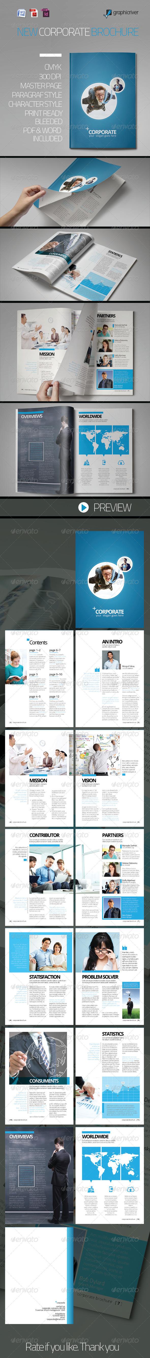 GraphicRiver New Corporate Brochure 6720688