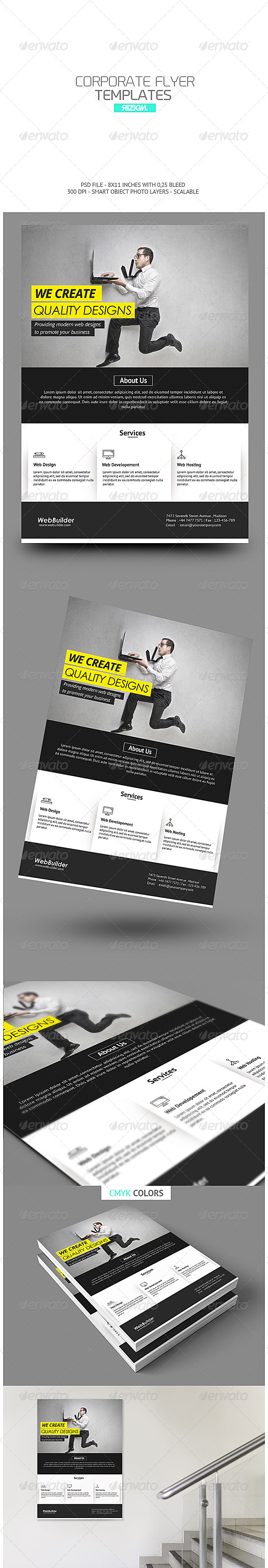 GraphicRiver Corporate Flyer 6717752