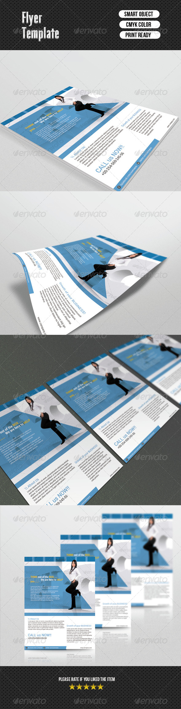 GraphicRiver Busines Flayer 6721527