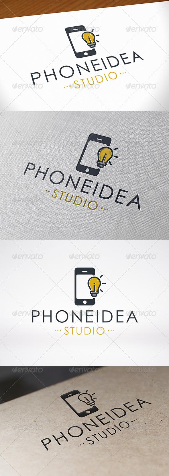GraphicRiver Phone Idea Logo Template 6723792