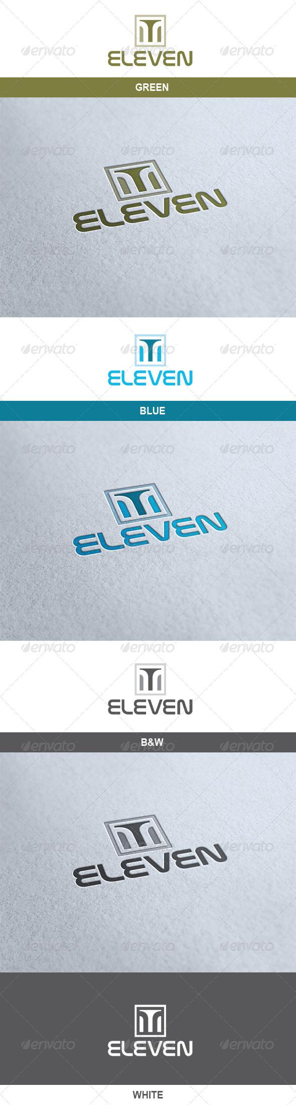 GraphicRiver Eleven Logo 6724343