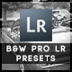 34 B&W  Pro Presets - GraphicRiver Item for Sale