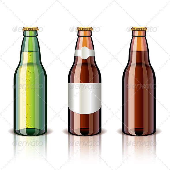 GraphicRiver Beer Bottles 6724943