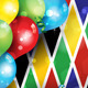 Carnival Harlequin Background - GraphicRiver Item for Sale