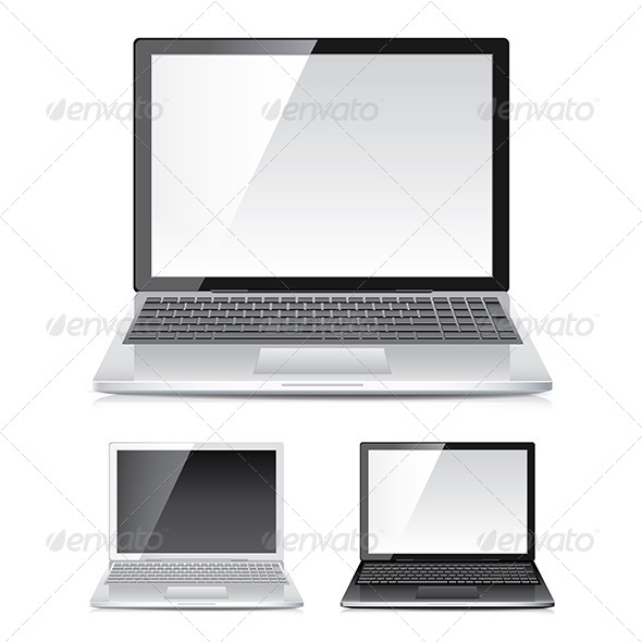 GraphicRiver Laptop Set 6725161