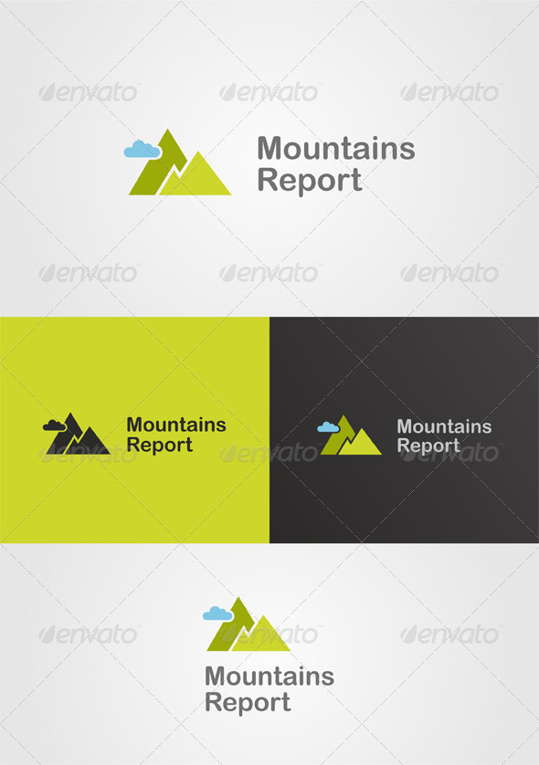GraphicRiver Mountain Logo Nature Theme 6684680