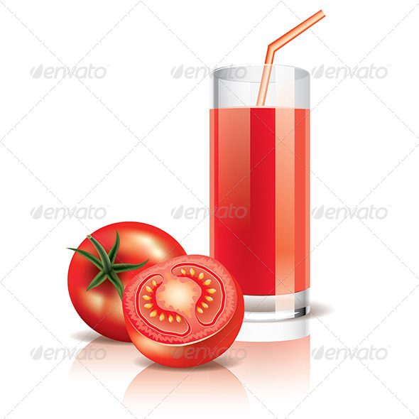 GraphicRiver Tomato Juice 6725863