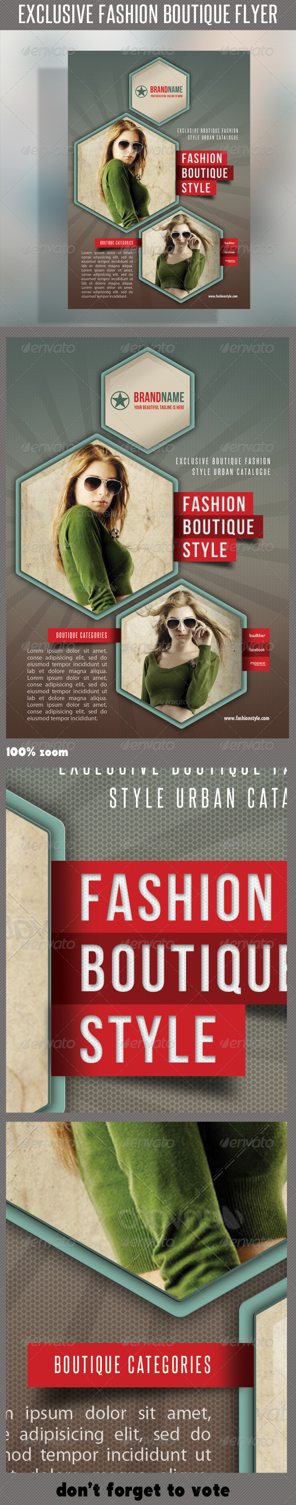GraphicRiver Fashion Product Flyer 36 6726507