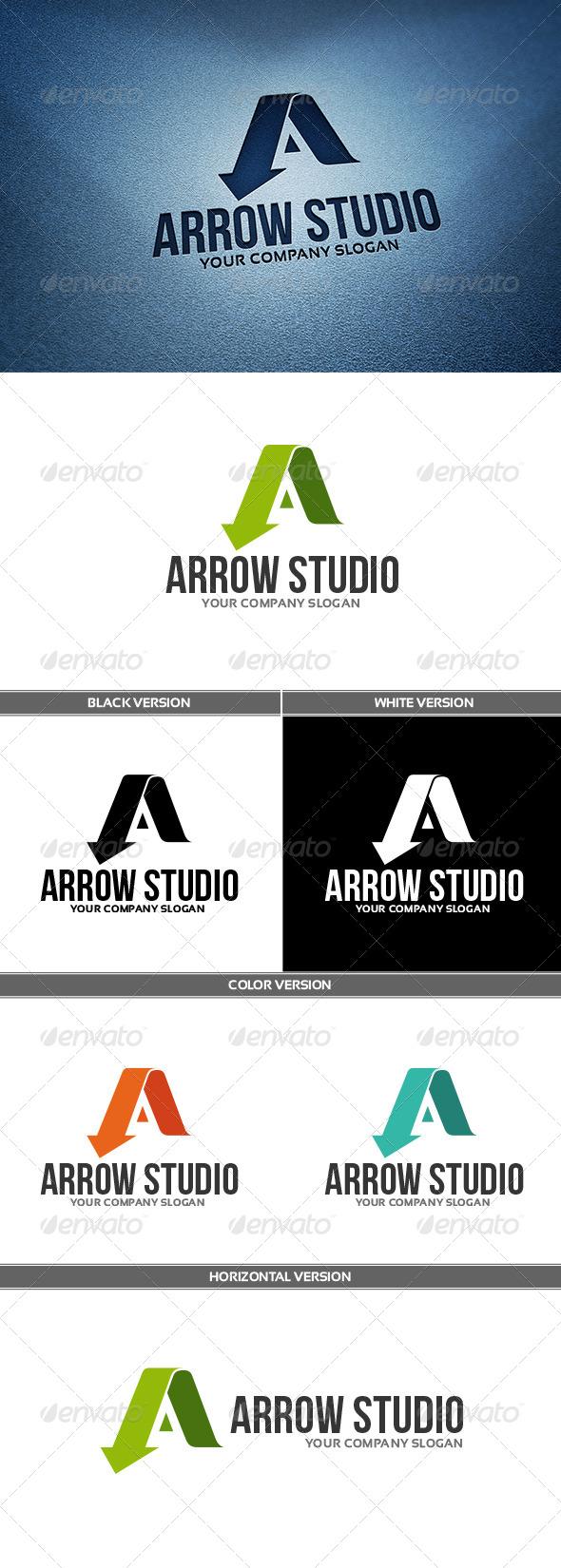 GraphicRiver ArrowStudio Logo 6726820