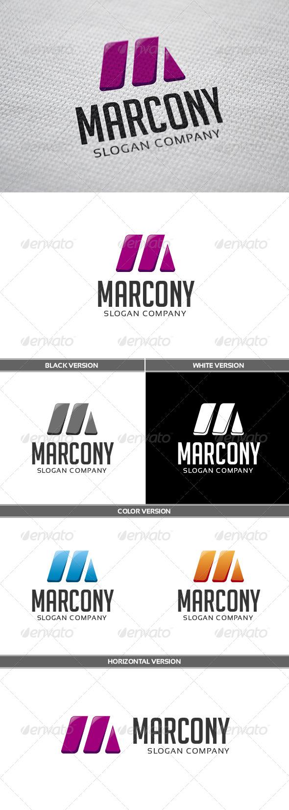 GraphicRiver Marcony Logo 6727017