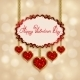 Hearts from Ribbon Valentine's Day Background - GraphicRiver Item for Sale