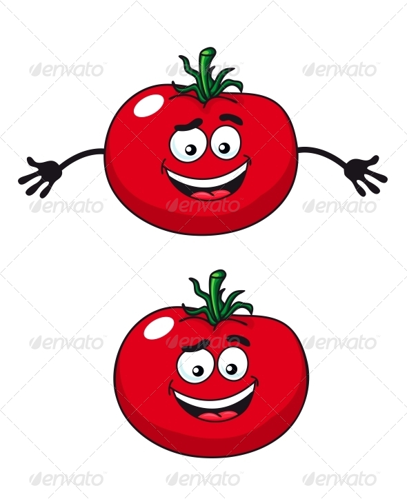 GraphicRiver Two Happy Tomatoes 6727552