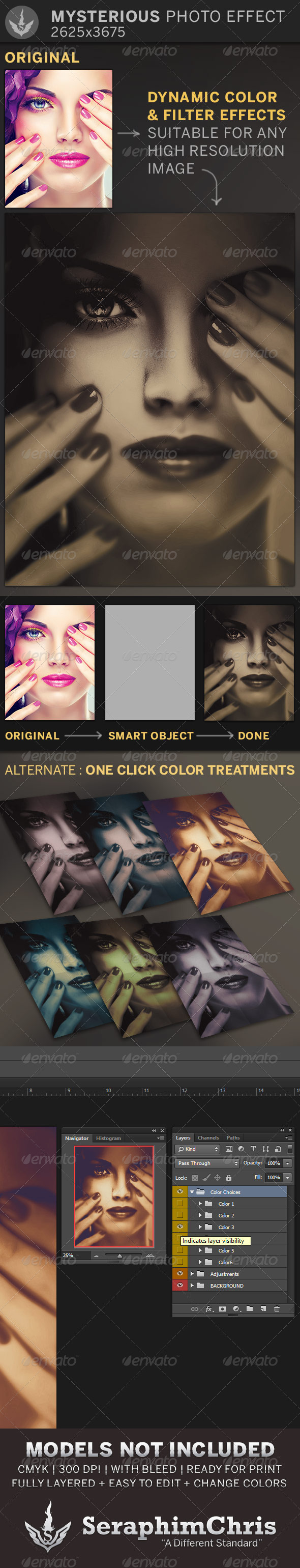 GraphicRiver Mysterious Photo Effect Template 6728252