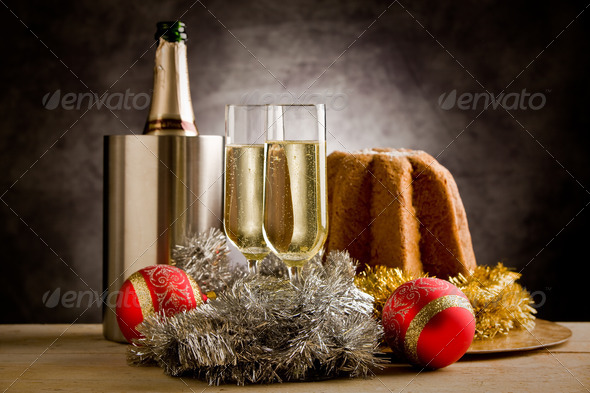 Champagner - Stock Photo - Images