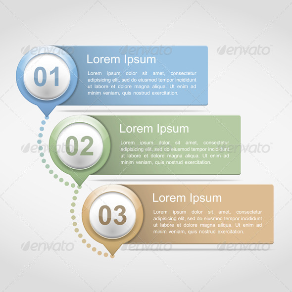 GraphicRiver Design Template with Three Elements 6729210