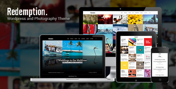 Redemption - Wordpress and Photography Theme - Creative WordPress