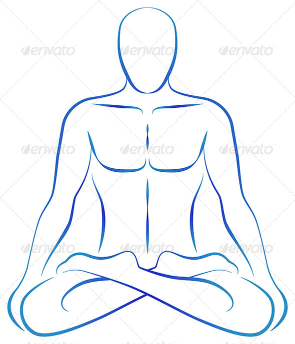 GraphicRiver Meditation Yoga Position 6731048