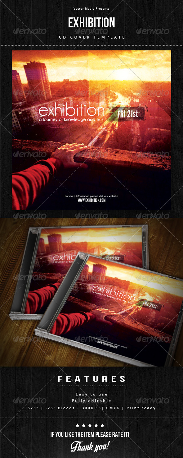 GraphicRiver Exhibition Cd Cover 6732091
