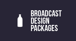 Designmilk Broadcast Design Packages