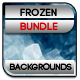 Frozen Backgrounds Bundle - GraphicRiver Item for Sale