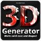 3D Generator - GraphicRiver Item for Sale