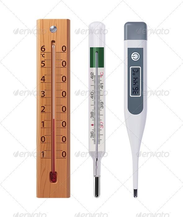 GraphicRiver Thermometers 6735735