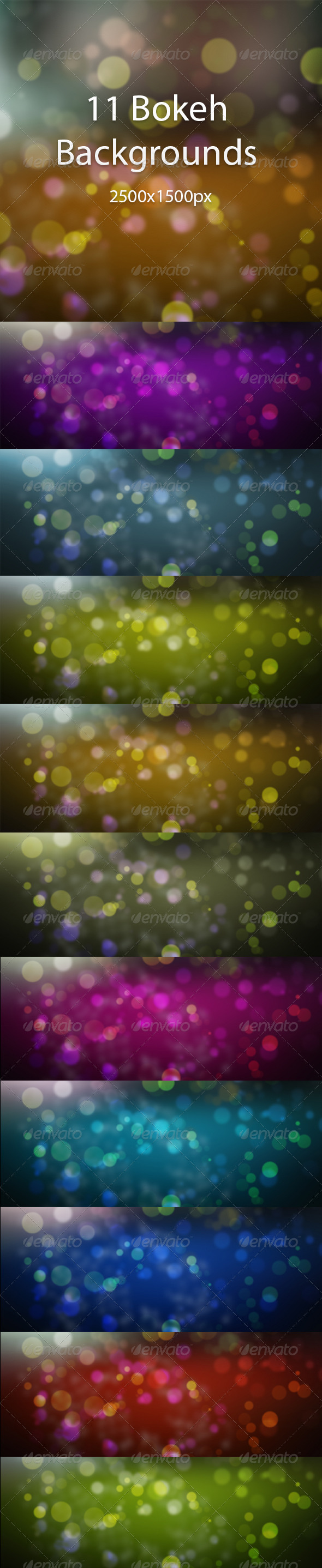 GraphicRiver Bokeh Background Pack 6735756