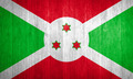 Burundi Flag on wood background - PhotoDune Item for Sale