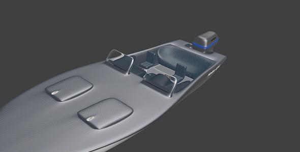 3DOcean MotorBoat 6737204