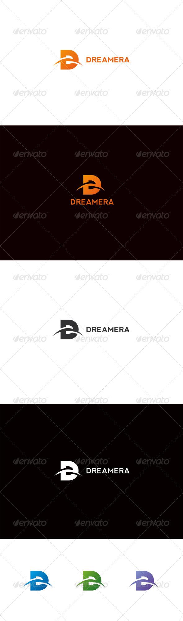 GraphicRiver Dreamera D Letter Logo 6737235