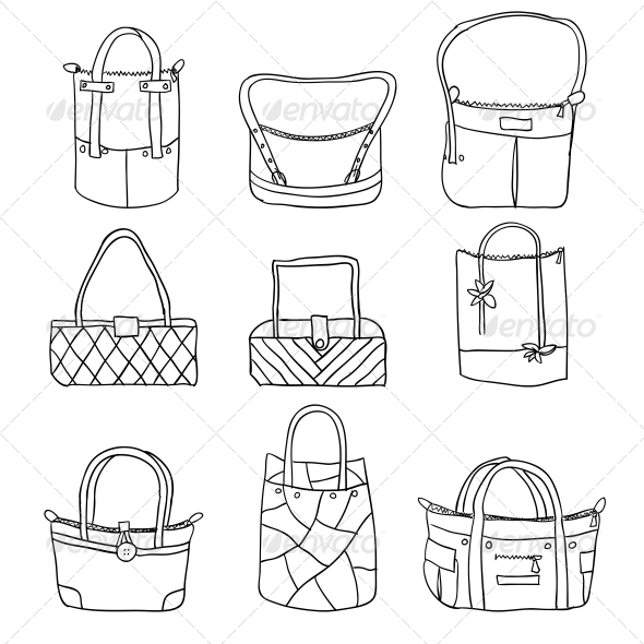 GraphicRiver Collection of Women s Accessories 6739235