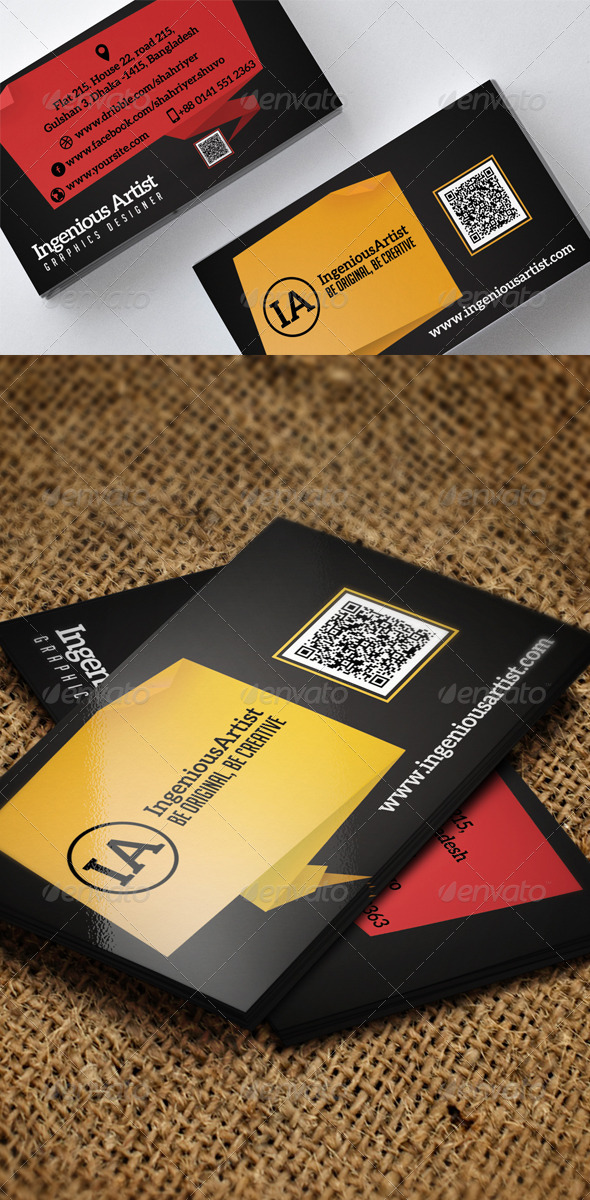 GraphicRiver Creative Business Card 6739273