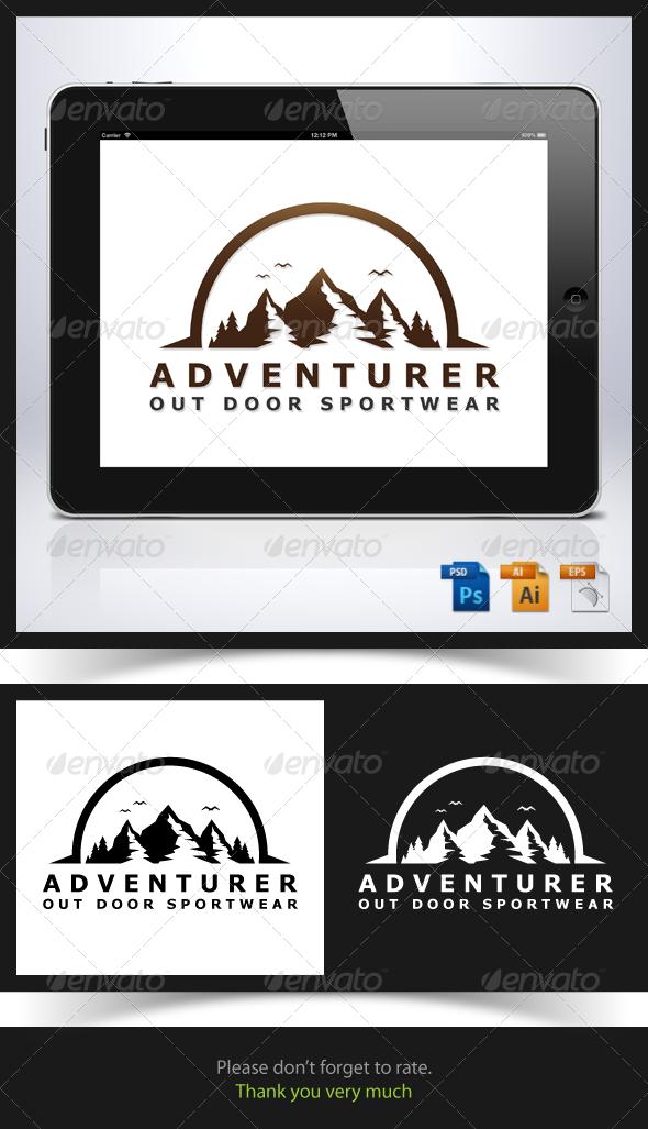 GraphicRiver Adventurer Logo 6724540