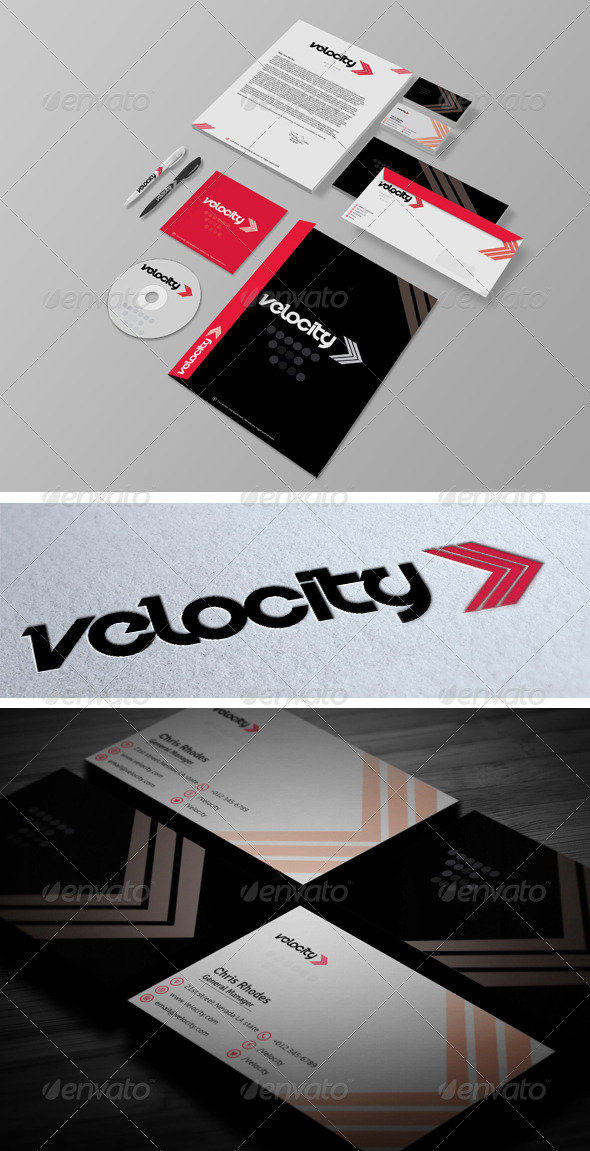 GraphicRiver Velocity Corporate Identity 6740152
