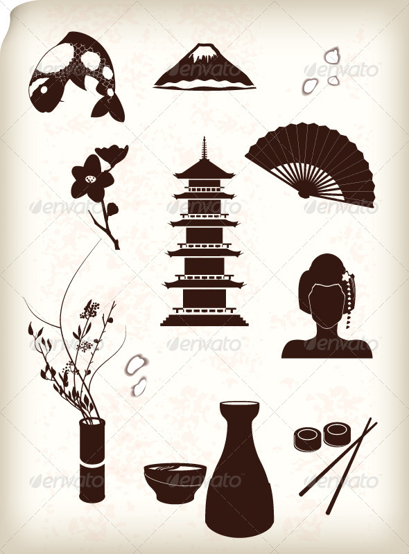 GraphicRiver Japan Icons 6740488
