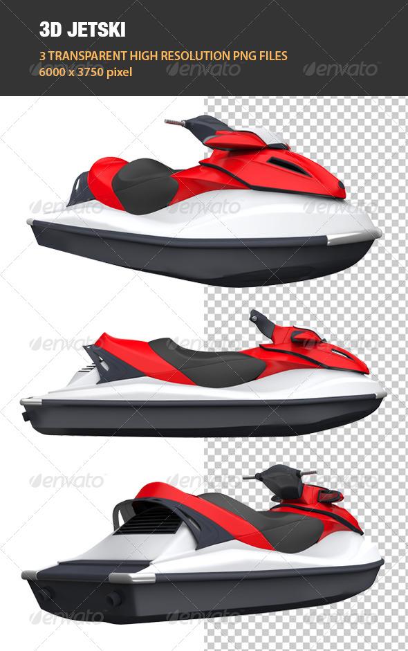 GraphicRiver 3D Jetski 6741774