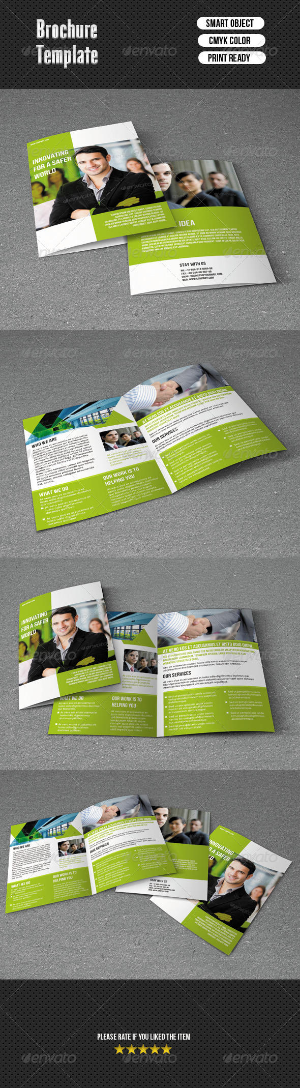 GraphicRiver Bifold Brochure-Business 6742311