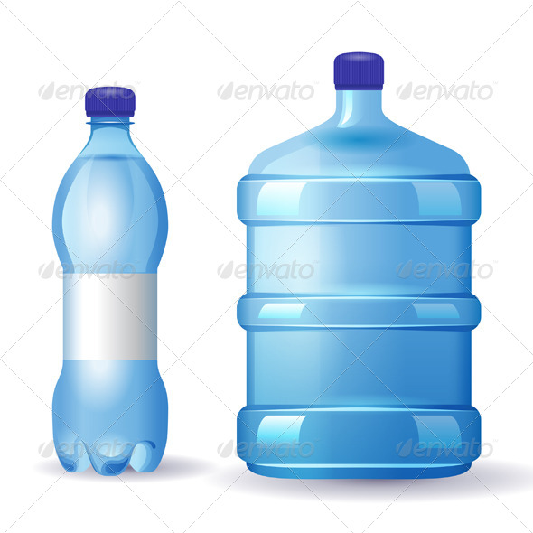 GraphicRiver Water Bottles 6743476