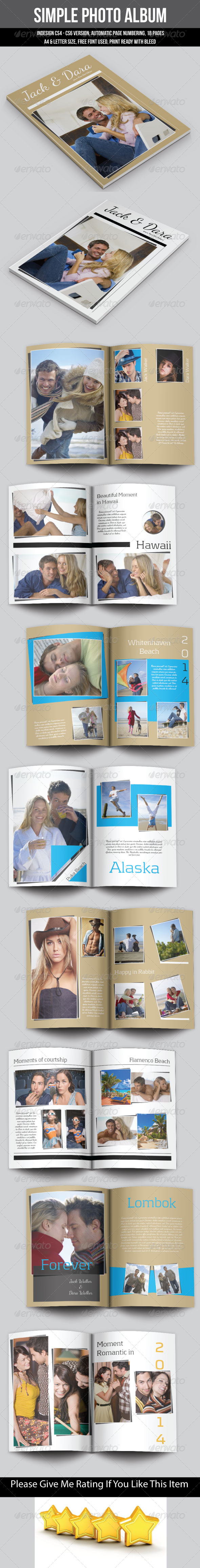 GraphicRiver Simple Photo Album 6744021