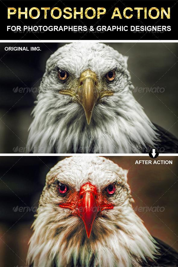 GraphicRiver Change Color Photoshop Action 6745182