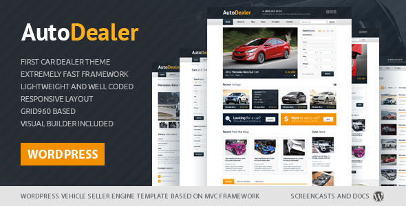 ThemeForest Auto Dealer Car Dealer WordPress theme 6745337