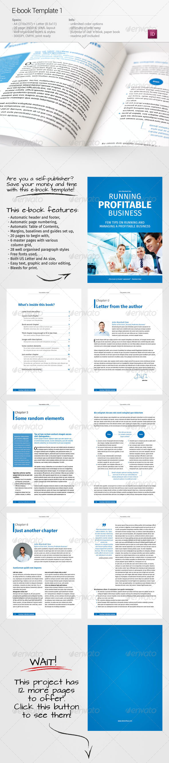 GraphicRiver E-book Template 1 6746653