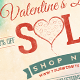 Valentine's Day Sale  Newsletter Promo Image - GraphicRiver Item for Sale