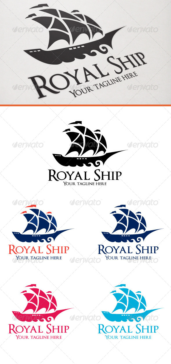 GraphicRiver Royal Ship 6746777
