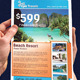 Elegant Travel | Tourism Flyer - GraphicRiver Item for Sale