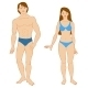 Templates of Human's Figure.  - GraphicRiver Item for Sale