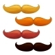 Set of Mustaches - GraphicRiver Item for Sale