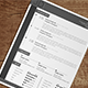 Elegance Resume Version 1 - GraphicRiver Item for Sale