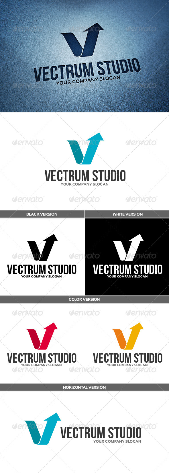 GraphicRiver VectrumStudio Logo 6748862